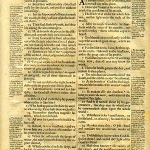 Geneva – 1640 – Old Testament