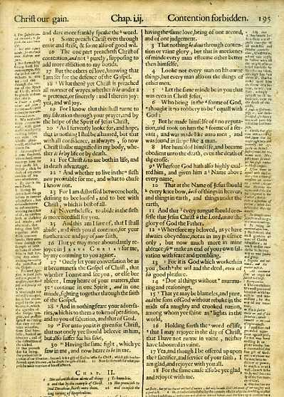 Geneva - 1640 - PHILIPPIANS 1:15-3:19