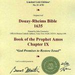 Douay-Rheims OT - 1635 - MICAH 1:1-2:4