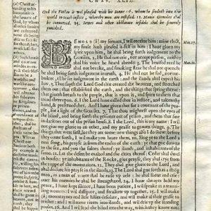 Douay-Rheims OT – 1635 – ISAIAH 41:12-42:16