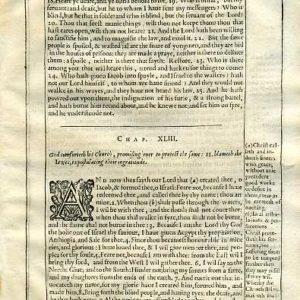 Douay-Rheims OT – 1635 – ISAIAH 42:17-43:28