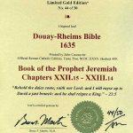 Douay-Rheims OT - 1635 - JEREMIAH 22:15-23:14