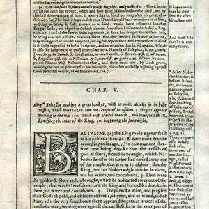 Douay-Rheims OT – 1635 – DANIEL 5:1-20