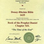 Douay-Rheims OT - 1635 - DANIEL 12:1-12, w