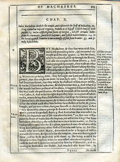 Douay-Rheims OT - 1635 - 2 MACCABEES 10:1-34