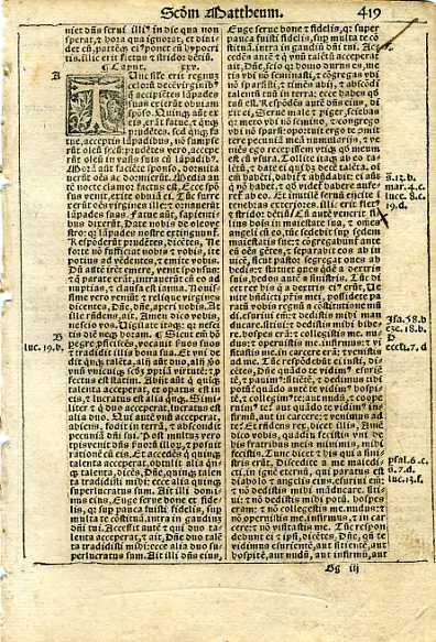 Biblia Sacra - 1531 - MATTHEW 24:50-26:44