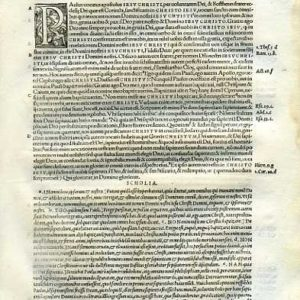 Biblia Sacra – 1542 – 1 & 2 CORINTHIANS, complete
