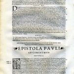 Biblia Sacra - 1542 - 1 and 2 CORINTHIANS, complete