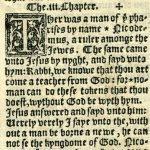 Coverdale - 1538 - JOHN 2:24-3:22