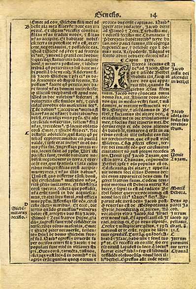 Biblia Sacra - 1531 - GENESIS 34:8-36:34
