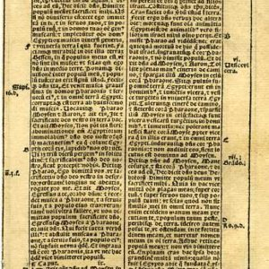 Biblia Sacra – 1531 – EXODUS 8:19-10:15