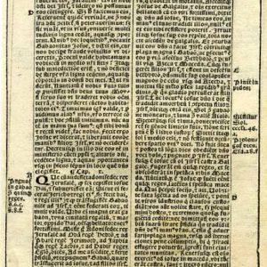 Biblia Sacra – 1531 – JOSHUA 9:17-11:20