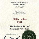Biblia Sacra - 1531 - NEHEMIAH 7:59-9:23
