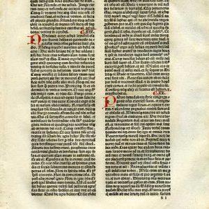 Biblia Sacra – 1482 – 1 KINGS 18:44-20:41