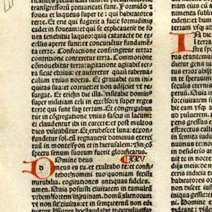 Biblia Sacra – 1482 – ISAIAH 22:12-26:11