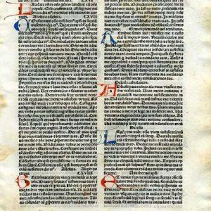 Biblia Sacra – 1484 – PSALMS 115:14-118:123 (Latin)
