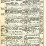 King James - 1703 - PSALMS 1:1-6:6