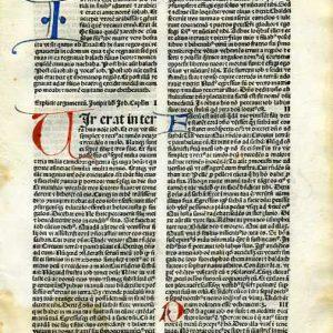 Biblia Sacra – 1484 – JOB 1:1-6:9