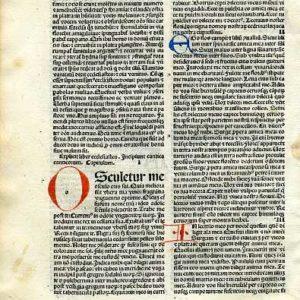Biblia Sacra – 1484 – SONG OF SONGS 1:1-3:5