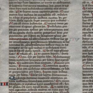 Biblia Sacra – 1325 – ROMANS 3-7