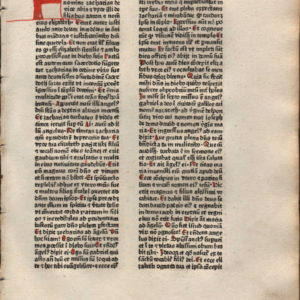 Biblia Sacra – 1480 – LUKE 1