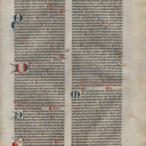 Biblia Sacra – 1483 – PSALMS 51-62