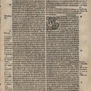 Biblia Sacra – 1519 – DEUTERONOMY 19:1-21:23
