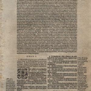 Geneva – 1603 – 1 CORINTHIANS 1:1-2:12