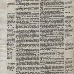 Geneva – 1607 – EXODUS 18:26-21:21