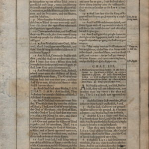 King James – 1612 – EXODUS 3:8-5:3