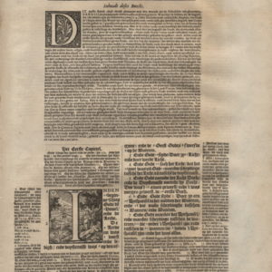 Biblia Neerlandica – 1650 – GENESIS 1-2
