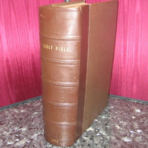 King James – 1675 – Bible