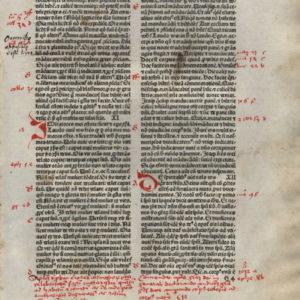 Biblia Sacra – 1480 – 1 CORINTHIANS 10-14