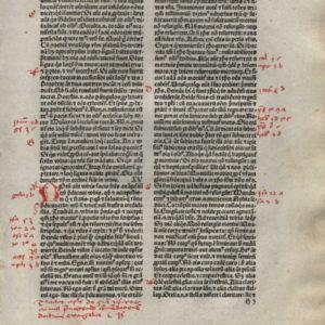 Biblia Sacra – 1480 – 1 CORINTHIANS 14-16