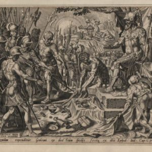 Gideon Receiving the Spoils – 1561