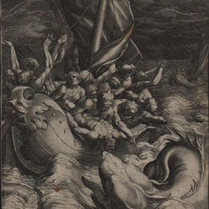 Jonah Thrown Into the Whale – 1582