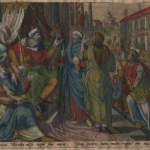 Magi Visiting King Herod – 1585