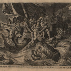 Story of Jonah – 1585 – Set of 4 plates