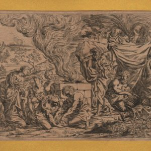 Noah Sacrifices to God – 1640 – Pietro Testa