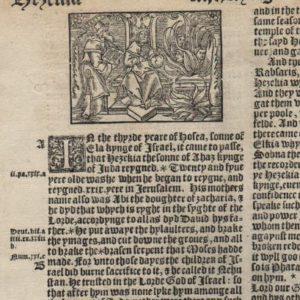 Great Byble – 1540 – 2 Kings 18-19