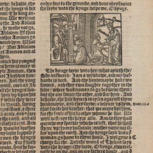Great Byble – 1540 – 2 Samuel 13-15