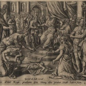 Solomon's Wise Judgment – 1585