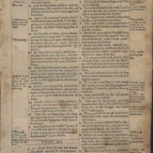 Geneva Bible – 1568 – EXODUS 14:21-16:18