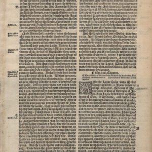 Great Byble – 1540 – Genesis 30-32
