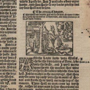 Great Byble – 1540 – Exodus 32-35