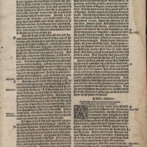 Great Byble – 1540 – Exodus 9-11