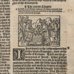 Great Byble – 1540 – Genesis 34-36