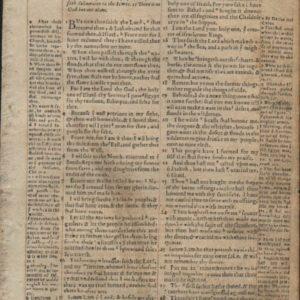 Geneva Bible – 1568 – ISAIAH 42:25-44:22