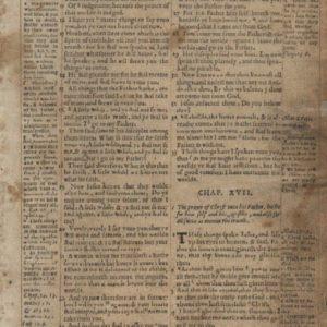 Geneva Bible – 1568 – JOHN 16:7-18:14