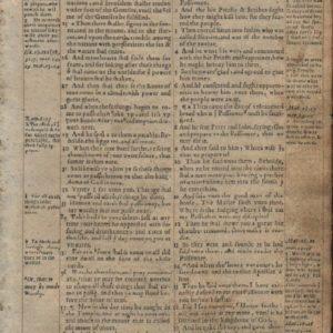 Geneva Bible – 1568 – LUKE 21:22-22:57